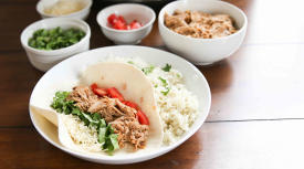 Slow Cooker Carnitas – Dinner Version
