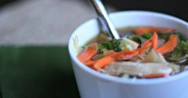 Paleo Asian Chicken Soup – Lunch Version