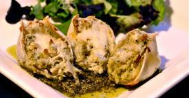 Chicken Pesto Stuffed Shells