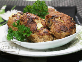 Paleo Zucchini Chicken Fritters