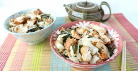 Sesame Ginger Noodle Bowl