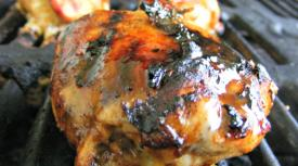 Spicy BBQ-Stuffed Chicken Breast
