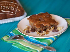 Paleo Chocolate Chip Cookie Cake
