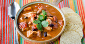Chicken Taco Soup – Dinner Version