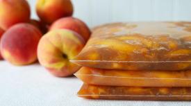 Freezer Peach Pie Kit