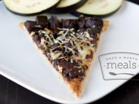 Vegan Eggplant Pizza