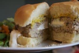 Stuffed Turkey Burgers – Paleo Version