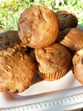 Gluten Free Dairy Free Cinnamon Apple Muffins