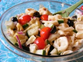 Summer Tortellini Pasta Salad