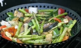 Healthy Balsamic & Rosemary Grilled Vegetables