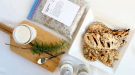 Buttermilk Herb Chicken- Lunch Version