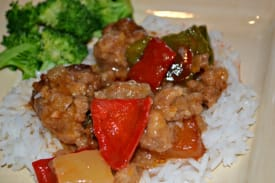 Gluten Free Dairy Free Slow Cooker Sweet and Sour Meatballs