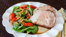 Balsamic Grilled Pork Loin – Traditional Version
