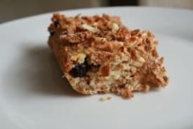 Blueberry Almond Bars