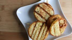 Paleo Honey Mustard Grilled Chicken Mini Paninis