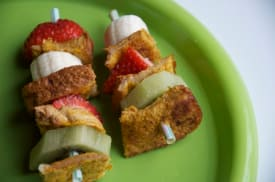 French Toast Stick Kabobs