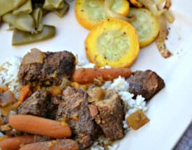 Thai Curry with Beef Brisket – Lunch Version