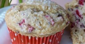 Gluten Free Recipe Makeover – Cranberry Vanilla Muffins