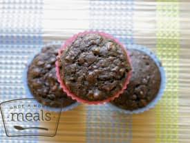 Healthier Double Chocolate Muffins Recipe