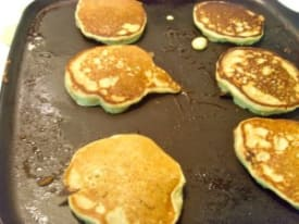 Mini Zucchini Bread Pancakes