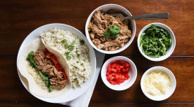 Slow Cooker Carnitas – Lunch Version