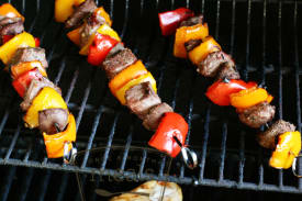Grilled Summer Steak Kabobs