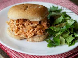 Chicken-Q Sandwich