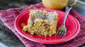 Instant Pot Pumpkin Coffee Cake – Traditional Version