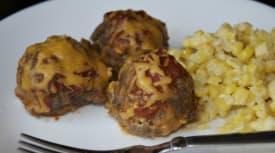 Instant Pot Enchilada Meatballs