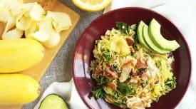 Autoimmune Paleo Summer Squash Salad