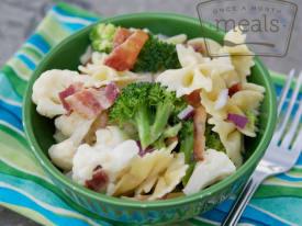 Sweet Broccoli Pasta Salad