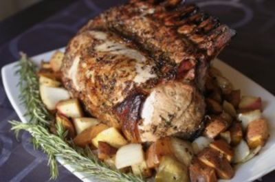 Pork rack recipe