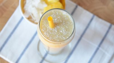 Vegan Pina Colada Smoothie