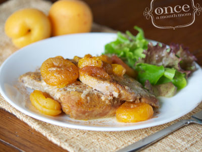Gluten Free Dairy Free Orange-Apricot Pork Chops for the Slow Cooker