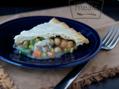 Chickpea Pot Pie