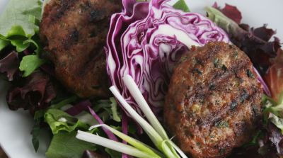 Paleo Asian Turkey Burgers