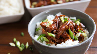Slow Cooker Honey Bourbon Chicken - Traditional Version