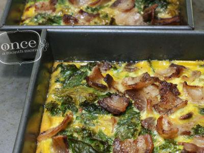 Bacon and Kale Paleo Breakfast Casserole
