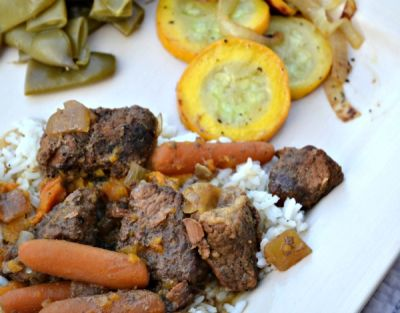 Thai Curry with Beef Brisket