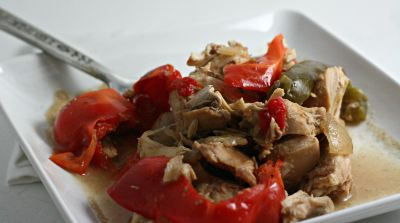 Slow Cooker Paleo Thai Chicken- Dinner Version