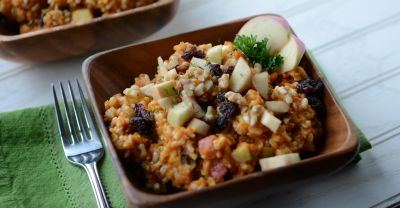 Gluten Free Dairy Free Pumpkin Apple Harvest Rice