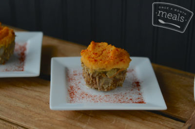 Spicy Shepherd's Pie Muffins