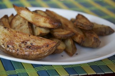 Oven Potato Wedges