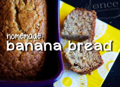 Classic Homemade Yogurt Banana Bread