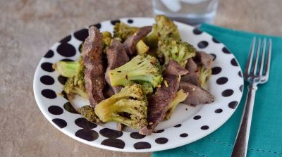 Spicy Beef & Broccoli