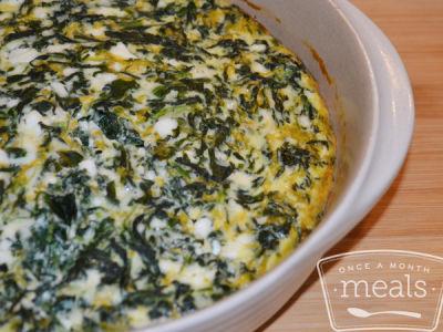 Spinach Pie- Lunch Version