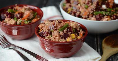 Gluten Free Dairy Free Quinoa Beet Salad
