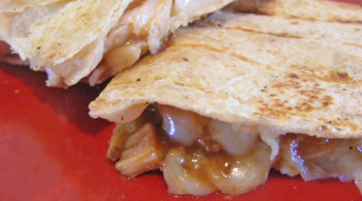 Grilled BBQ Chicken Quesadillas - Traditional Version