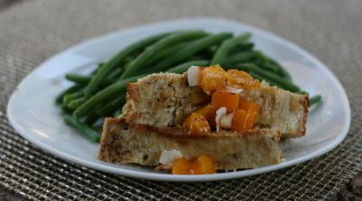 Tropical Chicken Meatloaf
