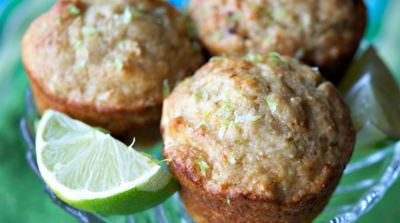 Yogurt Lime Muffins